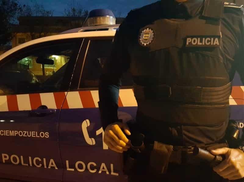 Agente de la Policía Local de Ciempozuelos.