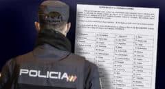 La Policía rebaja la nota de corte del examen de ortografía tras el alud de quejas