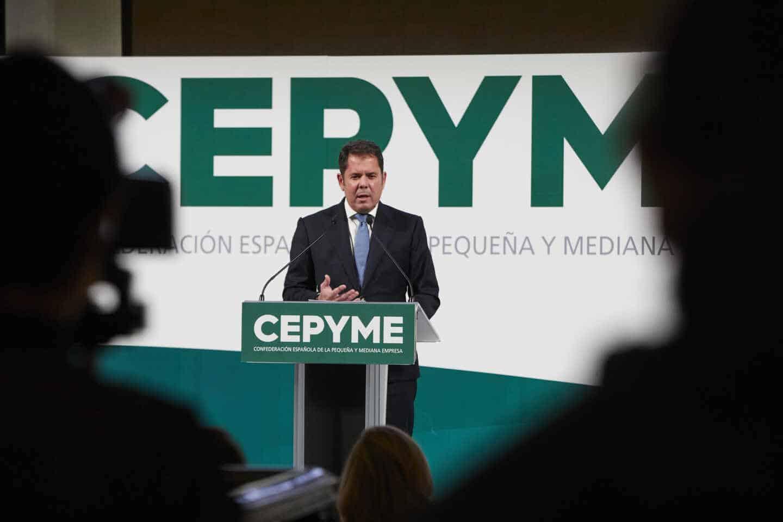 Gerardo Cuerva, presidente de Cepyme.