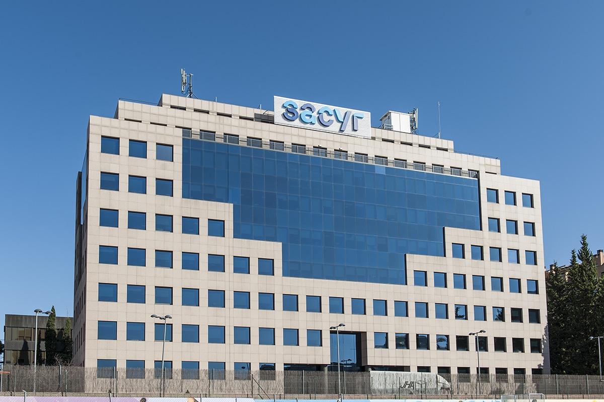 Sede de Sacyr, empresa de construcción y gestión de infraestructuras, que se adhiere a los valores de la Agenda 2030
