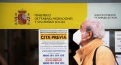 El 'shock' de las primeras horas del confinamiento en las oficinas del SEPE y la Seguridad Social