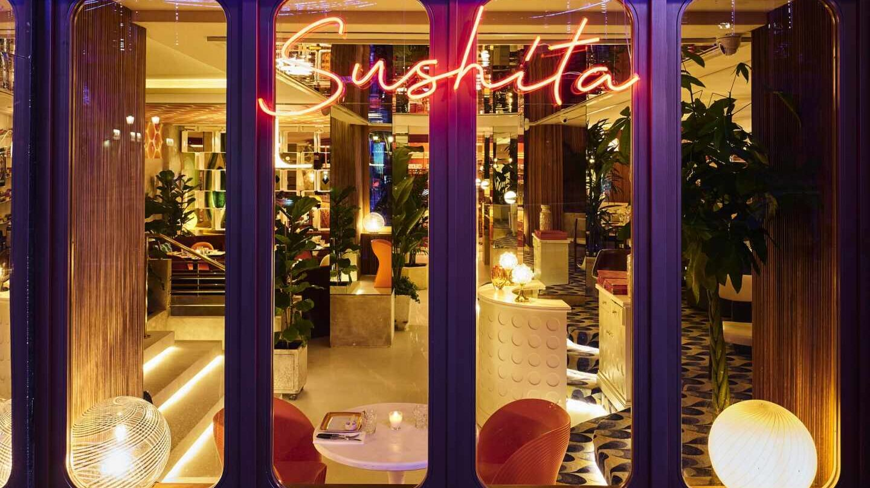 Le Club Sushita en calle Alcalá 63, Madrid.