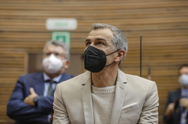 El ex coordinador autonómico de Ciudadanos (Cs) en la Comunitat Valenciana, el actor Toni Cantó.