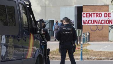 Cataluña, única comunidad donde no ha empezado la vacunación a los policías nacionales