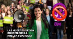 8 de marzo: el día que Vox saca pecho