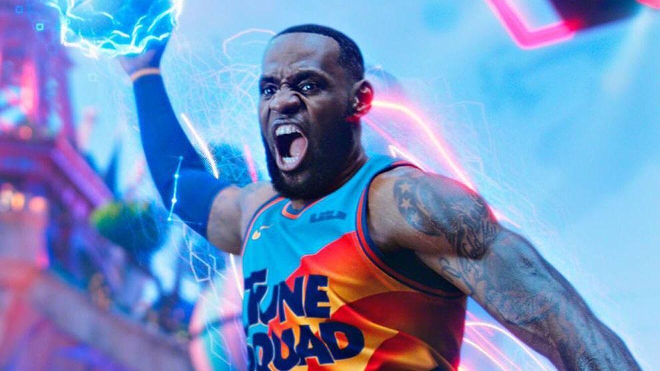 LeBron James es la nueva imagen de la nueva entrega de la exitosa 'Space Jam'