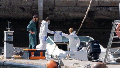 Los objetos hallados en el mar son del padre de las niñas de Tenerife
