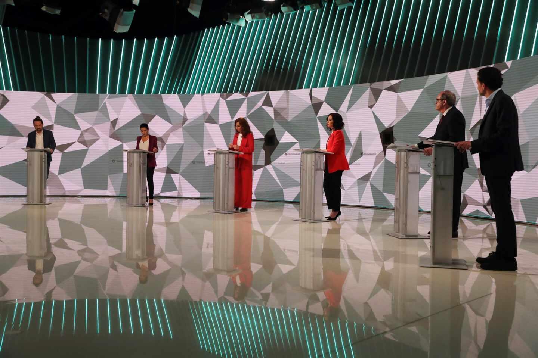Debate de candidatos en Telemadrid.