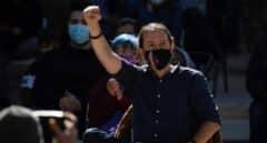 """Iglesias defiende como """"anhelo democrático"""" al separatismo catalán"""