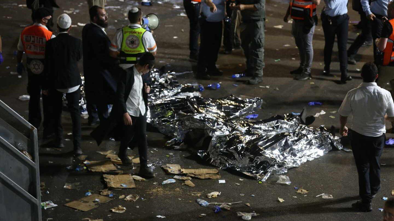 Al menos 44 muertos y cientos de heridos tras una estampida en un festival en Israel
