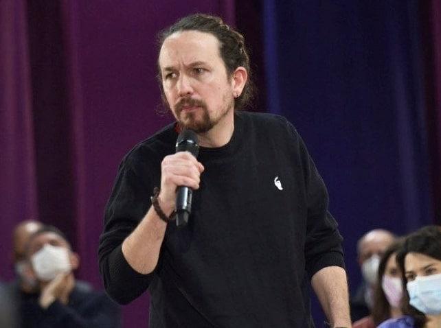 El candidato de Podemos a las elecciones de la Comunidad de Madrid, Pablo Iglesias.