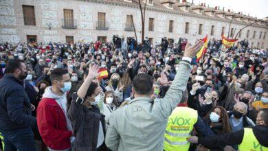 """Abascal quiere expulsar de la política a Iglesias  """"y que se vaya con el rabo entre las piernas"""""""