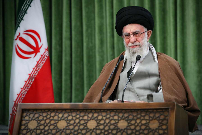 El ayatolá iraní, Ali Jamenei, en una comparecencia ante los medios