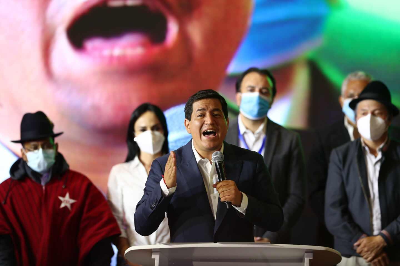 Andrés Arauz, aspirante a la Presidencia de Ecuador, reconoce su derrota