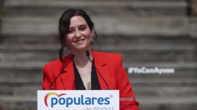 Isabel Díaz Ayuso presenta la campaña del 4-M.