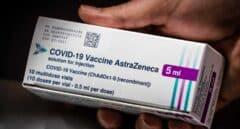 Caja de la vacuna AstraZeneca.