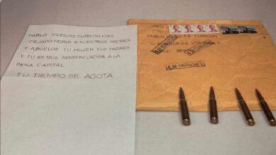 Los especialistas hallan restos de ADN y huellas dactilares en las tres primeras cartas a Marlaska, Iglesias y Gámez