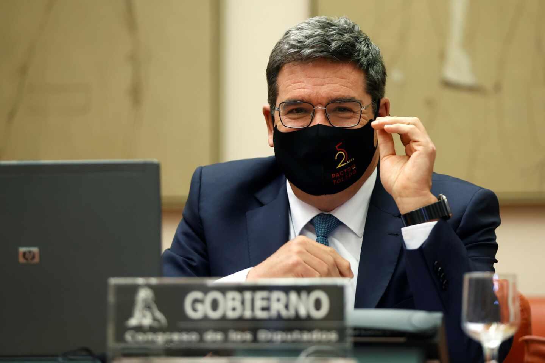 El ministro de Inclusión, Seguridad Social y Migraciones, José Luis Escrivá, comparece ante la comisión de seguimiento del Pacto de Toledo.