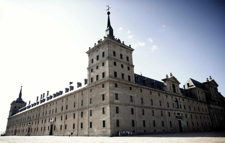 Fachada exterior del Monasterio del Escorial