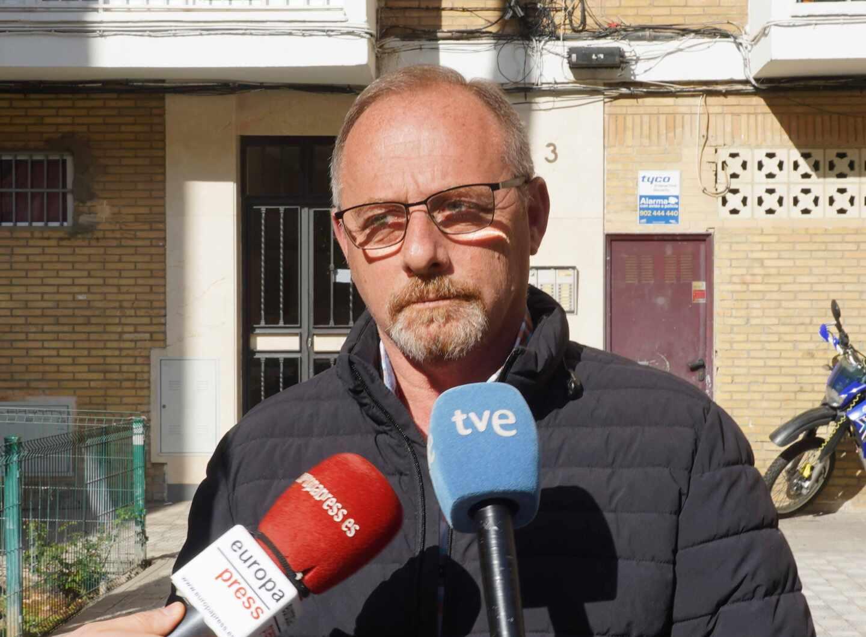 Rueda de prensa del padre de Marta del Castillo, Antonio del Castillo,