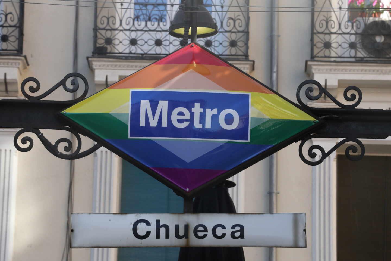 Metro Chueca.