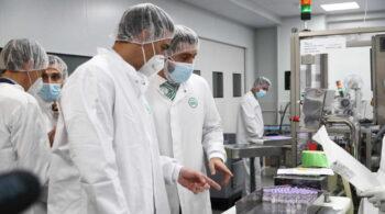 Rovi producirá en Granada más de 100 millones de dosis anuales de la vacuna de Moderna