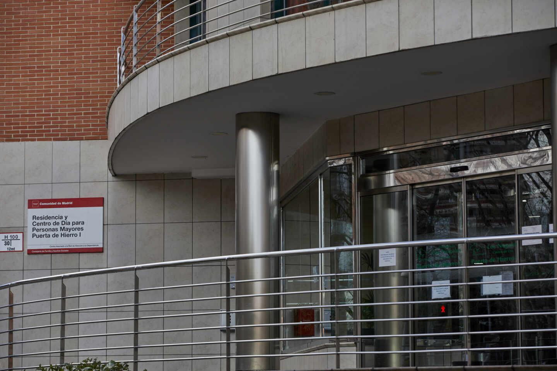 Residencia de mayores en Madrid.