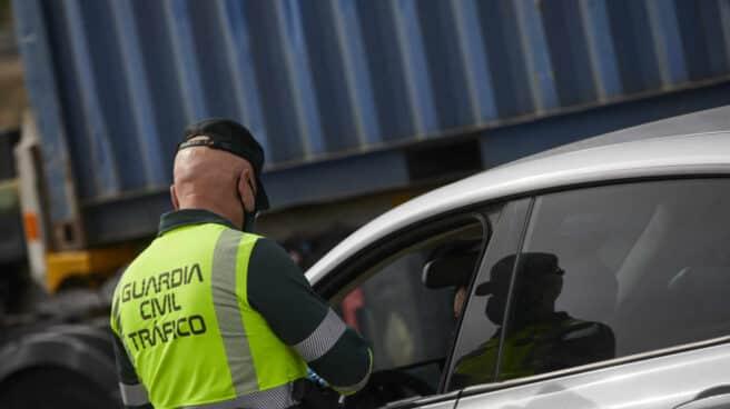 Guardia Civil de Tráfico en la Comunidad de Madrid.