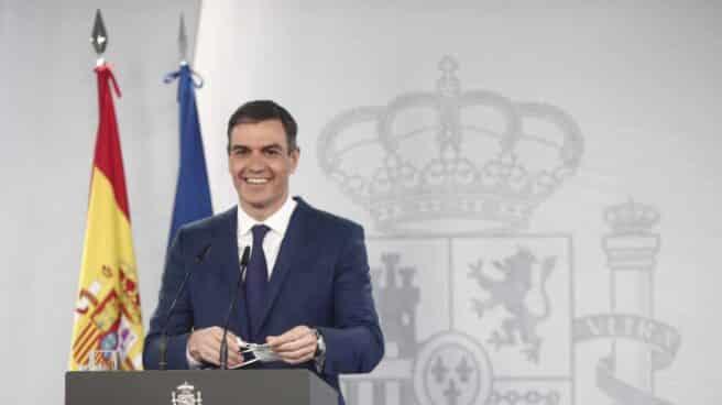 Pedro Sánchez comparece tras el Consejo de Ministros.