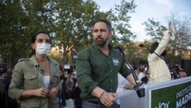 """Abascal acusa a Iglesias de enviar """"matones a sueldo"""" a Vallecas tras la detención de dos escoltas"""