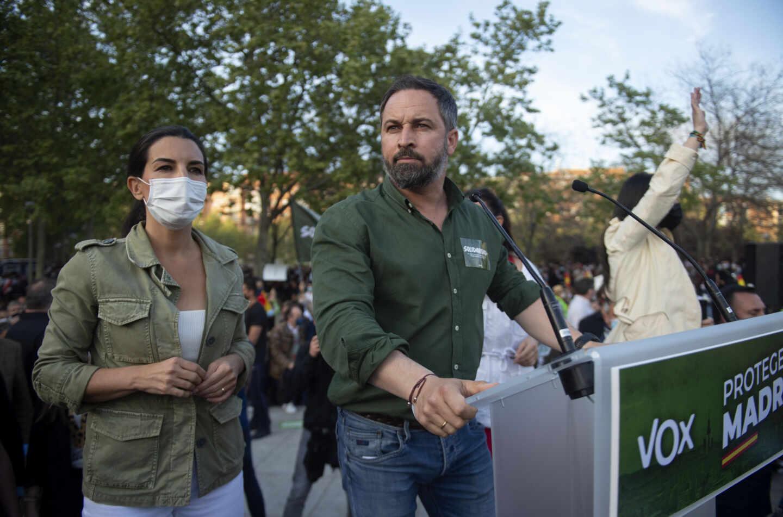 Vox presenta la lista de candidatos a las elecciones de Madrid en Vallecas