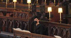 Kate Middleton luce las joyas de la Reina en el funeral del Duque de Edimburgo