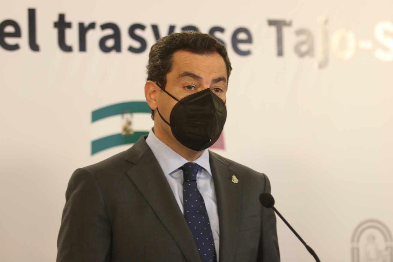 El presidentes de Andalucía, Juanma Moreno