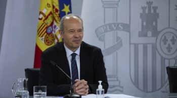 """El ministro Campo: """"Invito a Puigdemont a volver a España para ser juzgado"""""""