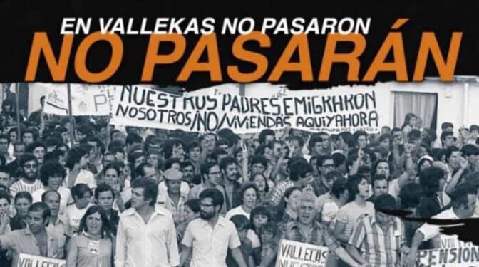 """Ultras del Rayo, 'antifas' y organizaciones vecinales quieren sabotear el acto de VOX en Vallecas: """"El barrio es nuestro"""""""