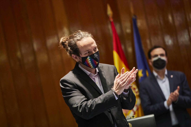 El candidato de Podemos a las elecciones del 4-M, Pablo Iglesias.