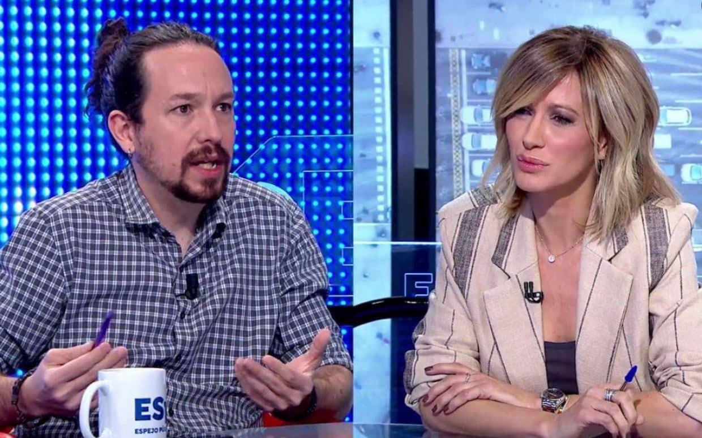 Iglesias y Susanna Griso
