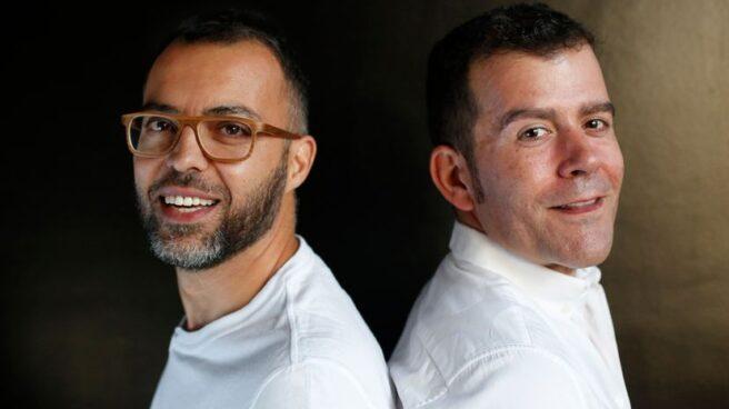 Óscar Cornejo (izquierda) y Adrián Madrid, propietarios de La Fábrica de la Tele