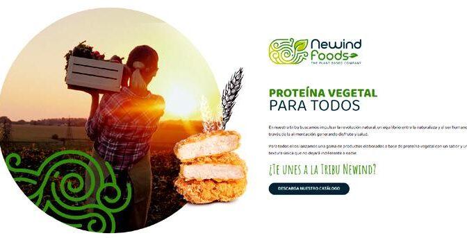La compañía española NeWind Foods irrumpe en el sector de alimentos a base de proteína vegetal