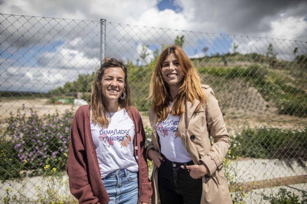 Maria Acín y Loreto Arenillas