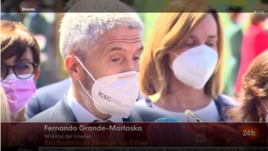 """Marlaska, sobre el 'caso Pérez de los Cobos': """"No tengo voluntad de dimitir"""""""
