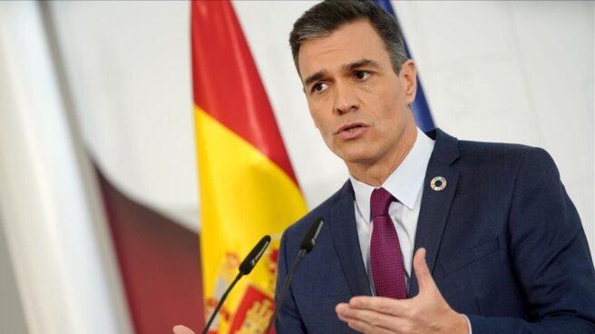 Pedro Sánchez en sus declaraciones sobre el estado de alarma
