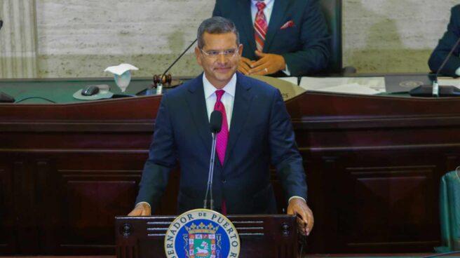 El gobernador de Puerto Rico, Pedro Pierluisi, en una intervención reciente