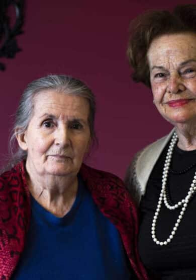 """Elena y Puri, tras un año de encierro: """"Queremos ver jóvenes sin mascarilla"""""""