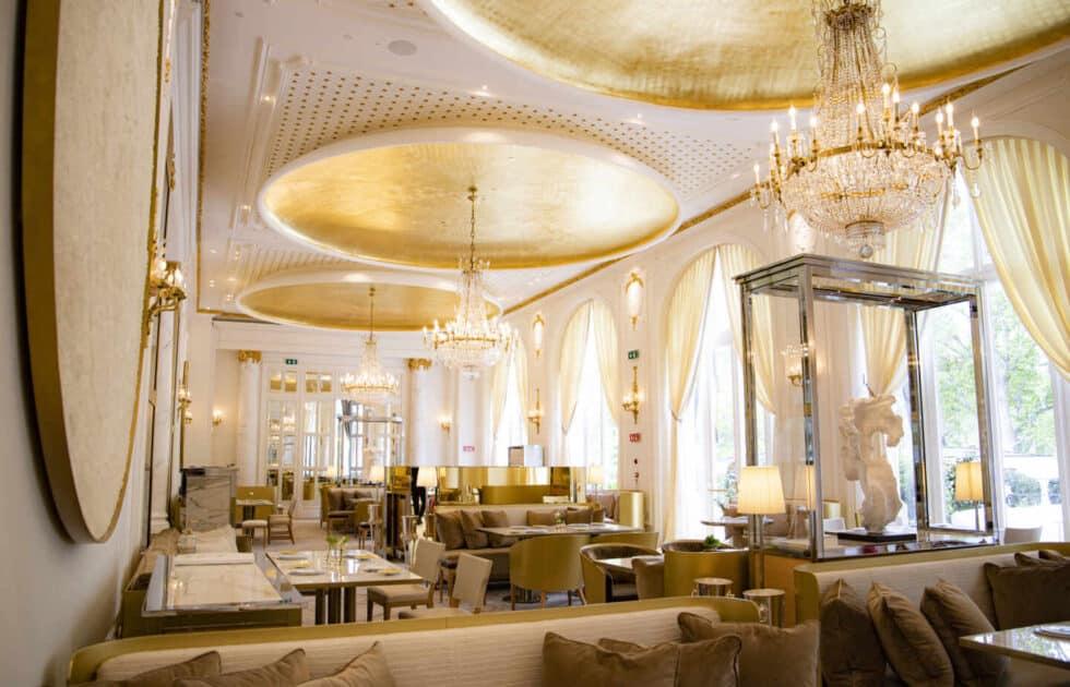 Restaurante de Quique Dacosta en el Ritz.