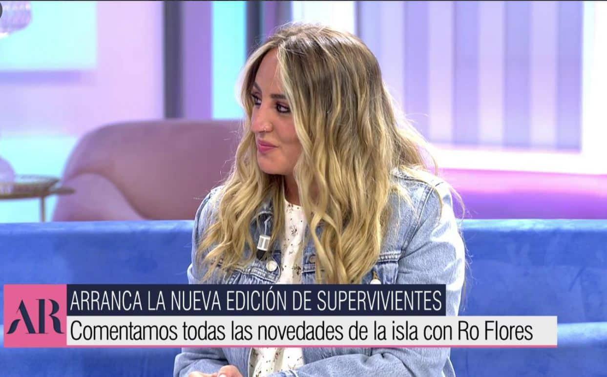 Rocío Flores en 'El programa de Ana Rosa'