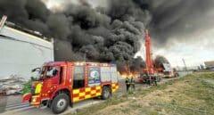 Así ha sido el espectacular incendio de Seseña