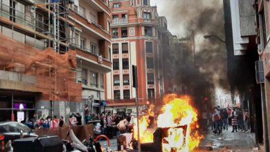 Disturbios, aglomeraciones y caos en Bilbao: la otra cara de la final de la Copa del Rey