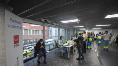 La Comunidad de Madrid bate un nuevo récord de vacunas administradas en un día