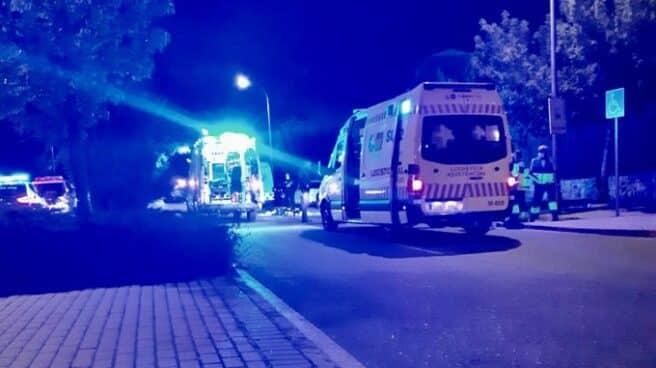 Accidente de un joven en patinete en Valdemoro (Madrid).